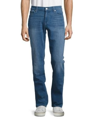 Mid-Rise Five-Pocket Jeans by Seven For All Mankind
