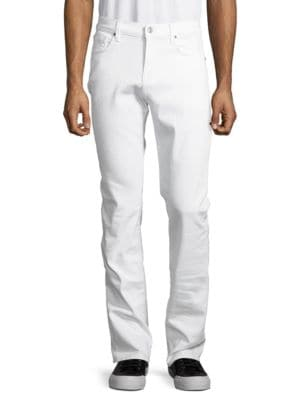 Slimmy Slim Solid Straight Jeans by Seven For All Mankind