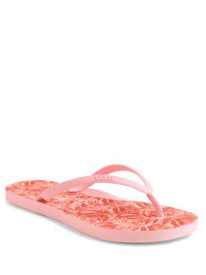 Rose Flip Flops @...