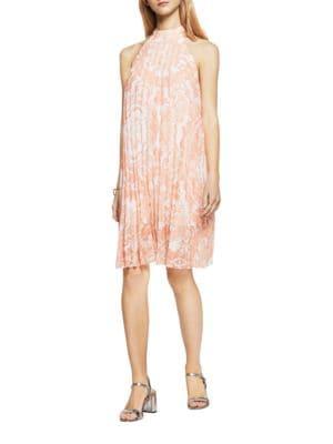 Summer Flower-Print Halter Dress by BCBGeneration