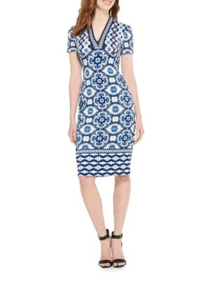 V-Neck Dress by Maggy London