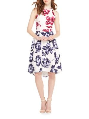 Floral Sleeveless Dress by Maggy London