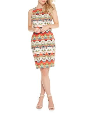 Printed Dress by Maggy London
