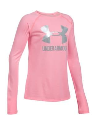 Girls UA Big Logo Slash Sweatshirt