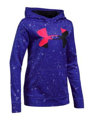 Girls Fleece Big Logo Novelty Hoodie