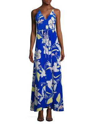 Cleo Floral Print Maxi Dress by Yumi Kim