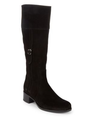 Velvit Suede Mid-Calf Boots by La Canadienne