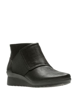 Caddell Leather Boots by Clarks