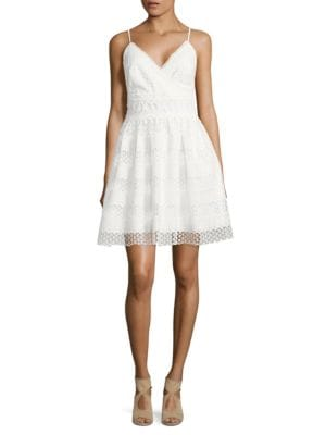 Sleeveless Crochet Dress by Calvin Klein