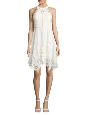 Halterneck Lace Dress by Dress The Population
