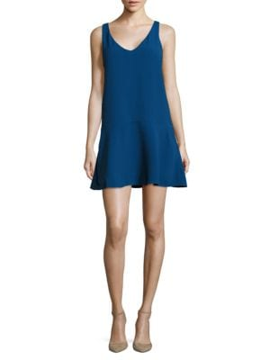 V-Neck Sleeveless Textured Dress by BB Dakota