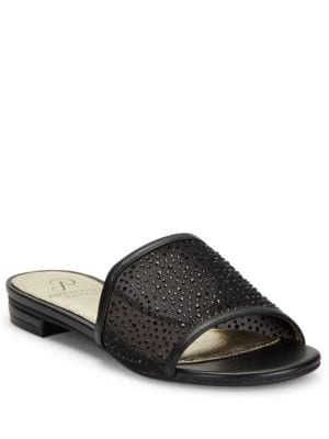 Studded Slip-On Sandals by Adrianna Papell