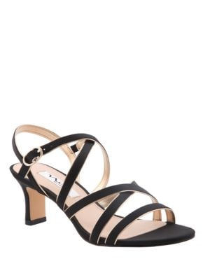 Genaya Satin Sandals by Nina