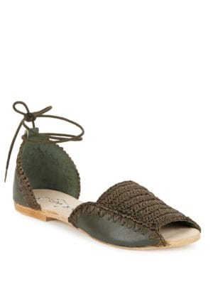 Beaumont Leather Flats by Free People