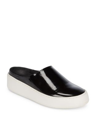 Photo of Wynwood Patent Platform Slide Sneakers by Free People - shop Free People shoes sales
