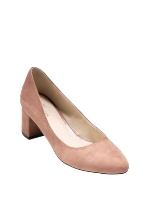 Justine Suede Pumps by Cole Haan