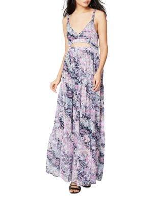 Floral-Print Ruffle Dress by RACHEL Rachel Roy