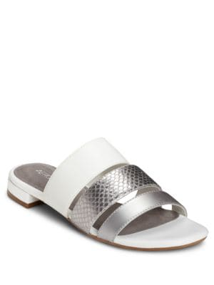 Block Heel Textured Sandals by Aerosoles