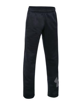 Boys Fleece Big Logo Pants