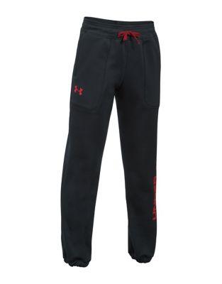 Boys Fleece Branded Jogger Pants