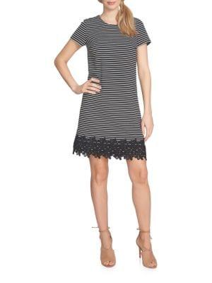 Lace Hem Dress by Cece