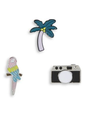 Three-Piece Tropical Pin Set by Variations