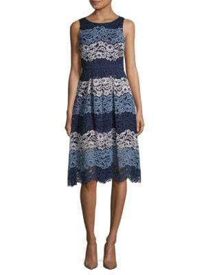 Roxy Lace Dress by Belle Badgley Mischka