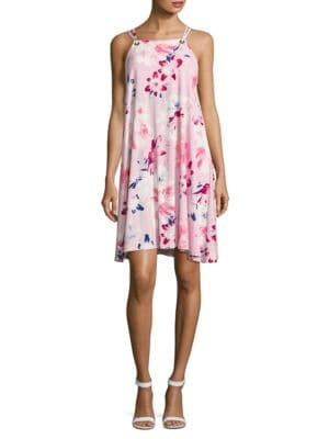 Floral Trapeze Dress by Ivanka Trump