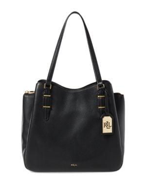 Easby Fenmore Leather Hobo Bag by Lauren Ralph Lauren