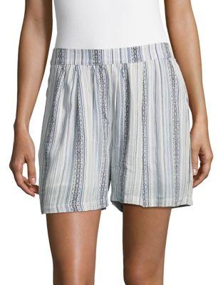Striped Shorts @...