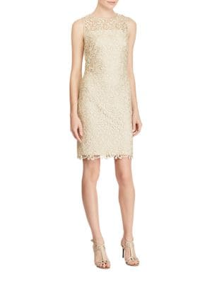 Champ Melia Sheath Dress by Lauren Ralph Lauren