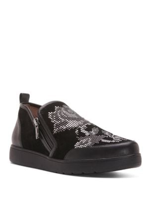 Myla Studded Sneakers by Donald J Pliner