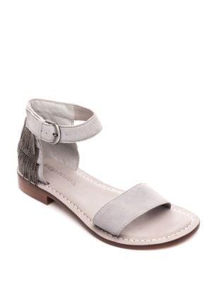 Taci Suede Slingback Sandals by Bernardo