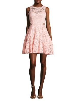 Floral Lace Dress by Xscape