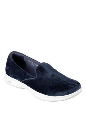Suede Slip-On Sneakers by Skechers