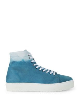 Cere High-Top Cotton Sneakers by Liebeskind Berlin