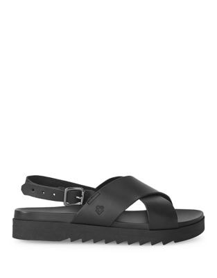 Buckled Leather Sandals by Liebeskind Berlin