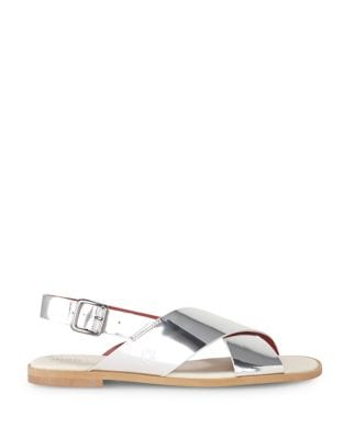 Metallic Leather Sandals by Liebeskind Berlin