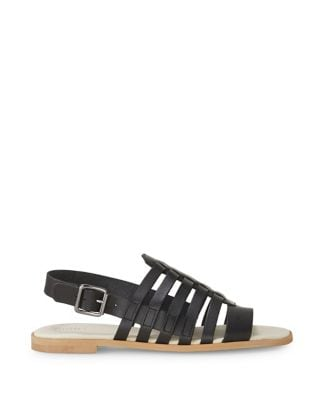 Cogle Leather Caged Slingback Sandals by Liebeskind Berlin