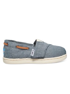 Kids Chambray Boat Shoes 500087062304