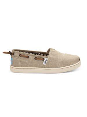 Boy's Tucked-Toe Boat Shoes 500087062370