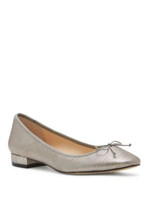 Adema Leather Slip-On Ballet Flats by Vince Camuto
