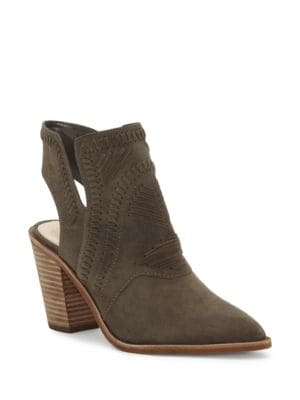 Binks Leather Bootie by Vince Camuto