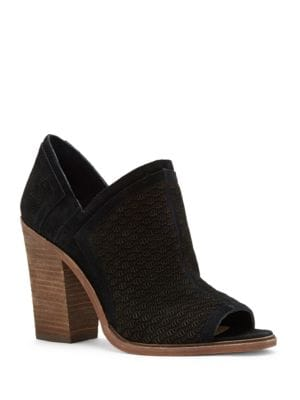 Karini Leather Slip-On Bootie by Vince Camuto