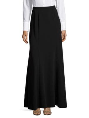 Crepe Maxi Skirt by Alex Evenings
