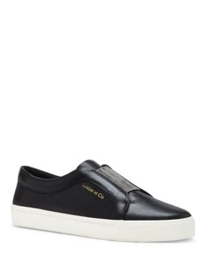 Lo-Bette Leather Slip-On Sneakers by Louise et Cie