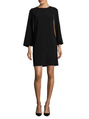 Cape Sleeve Dress by DKNY