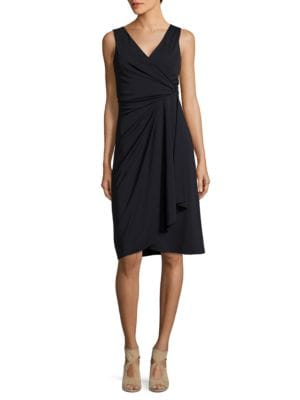 V-Neck Dress by DKNY