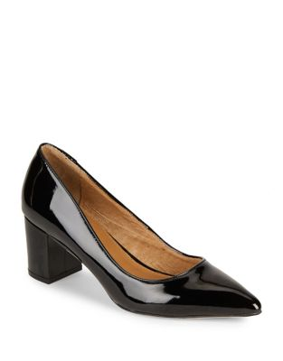 Regina Patent Leather Pumps by Corso Como