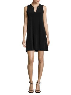 Sleeveless Shift Dress by Nicole Miller New York